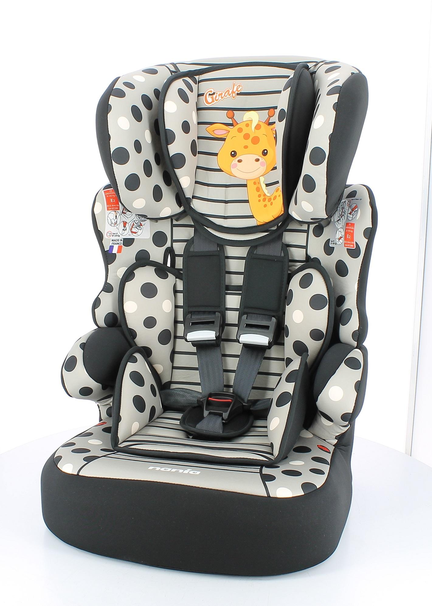 Autosedačka Beline SP Girafe 9-36 kg