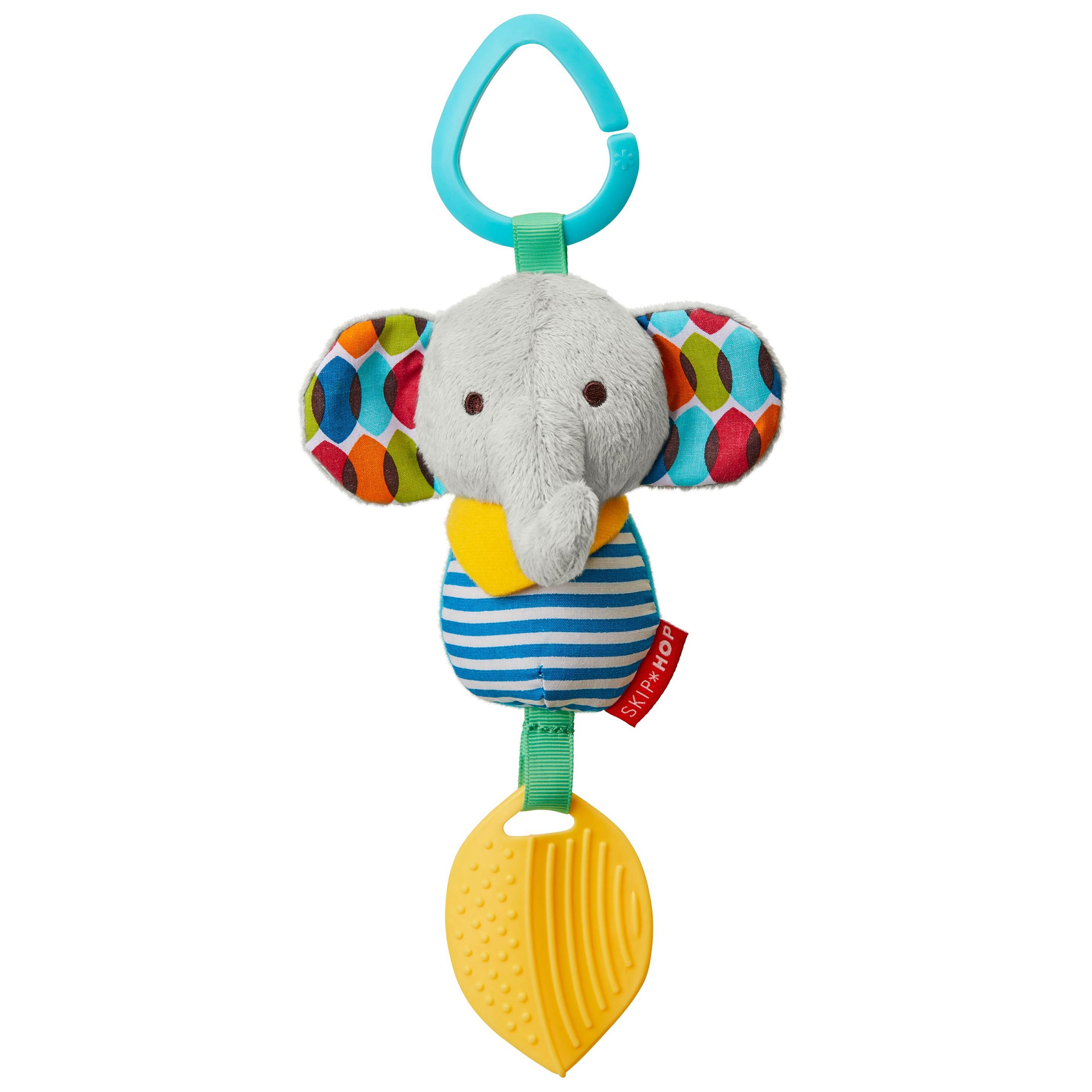 Hračka na C krúžku Bandana Buddies - Malý slon 0m+