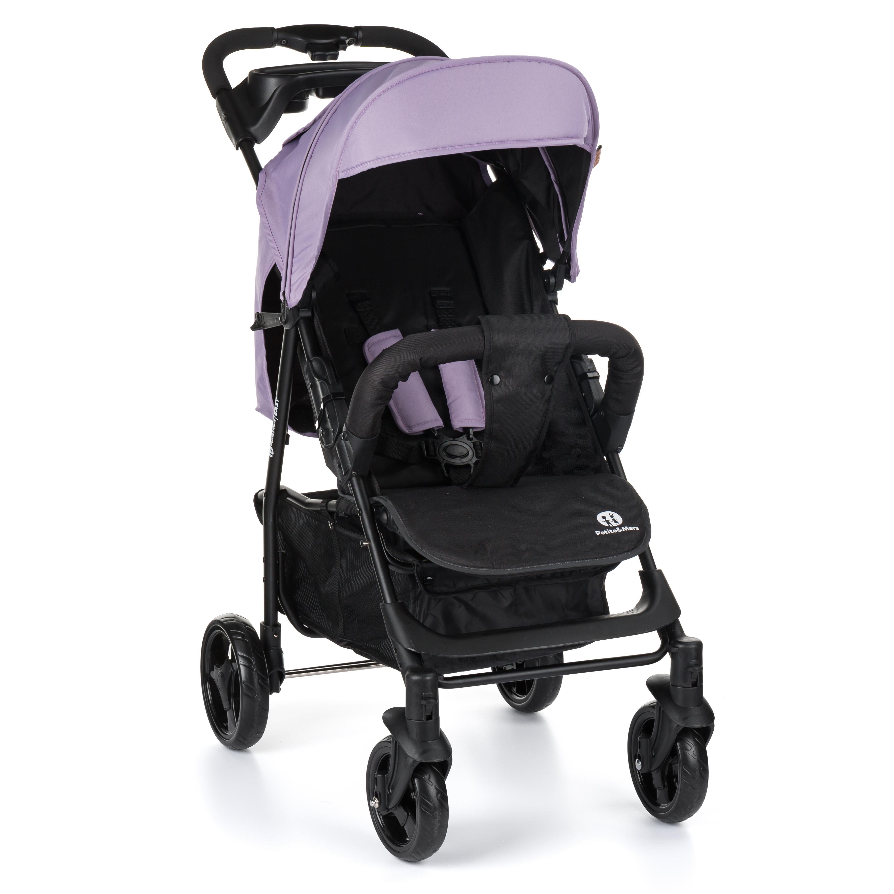 Kočík športový EasyDusty Lilac 2019 Petite&Mars