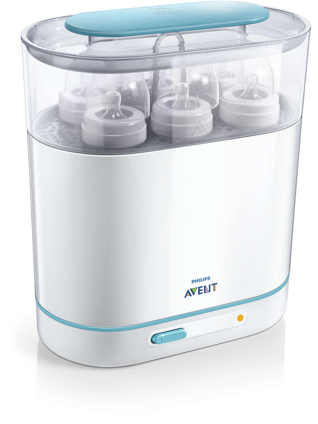 Avent sterilizátor parný elektrický 3v1