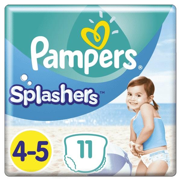 Plienky do vody Splashers 9-15kg 11ks Pampers