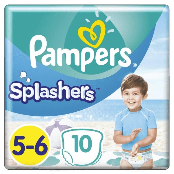 Plienky do vody Splashers 14kg+ 10ks Pampers