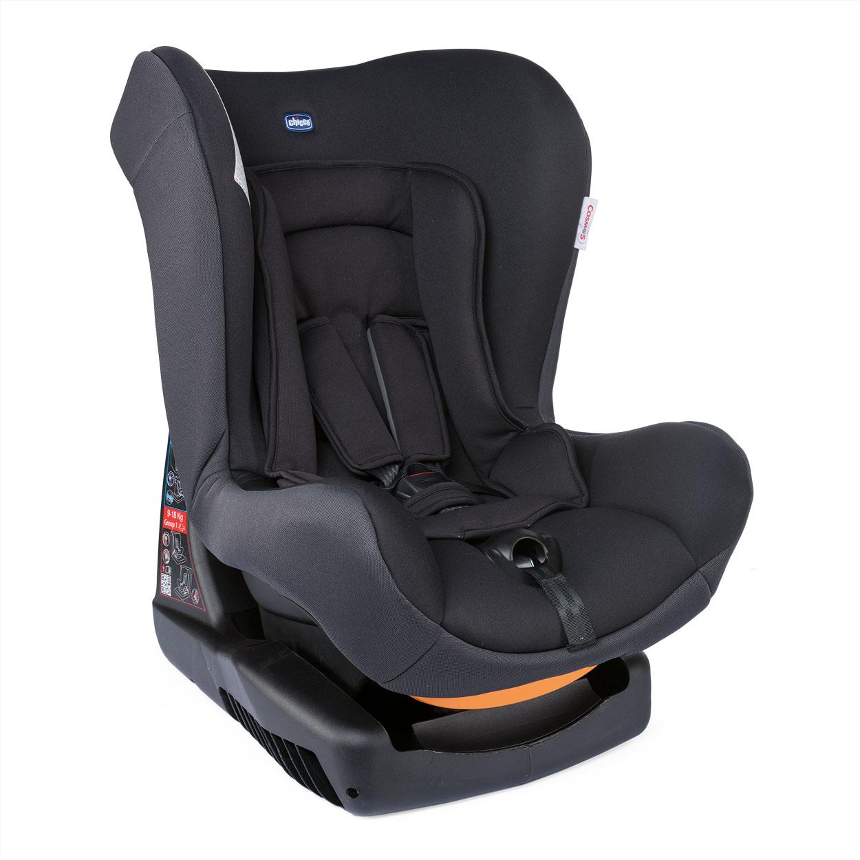 Autosedačka Cosmos - Jet Black 0-18kg