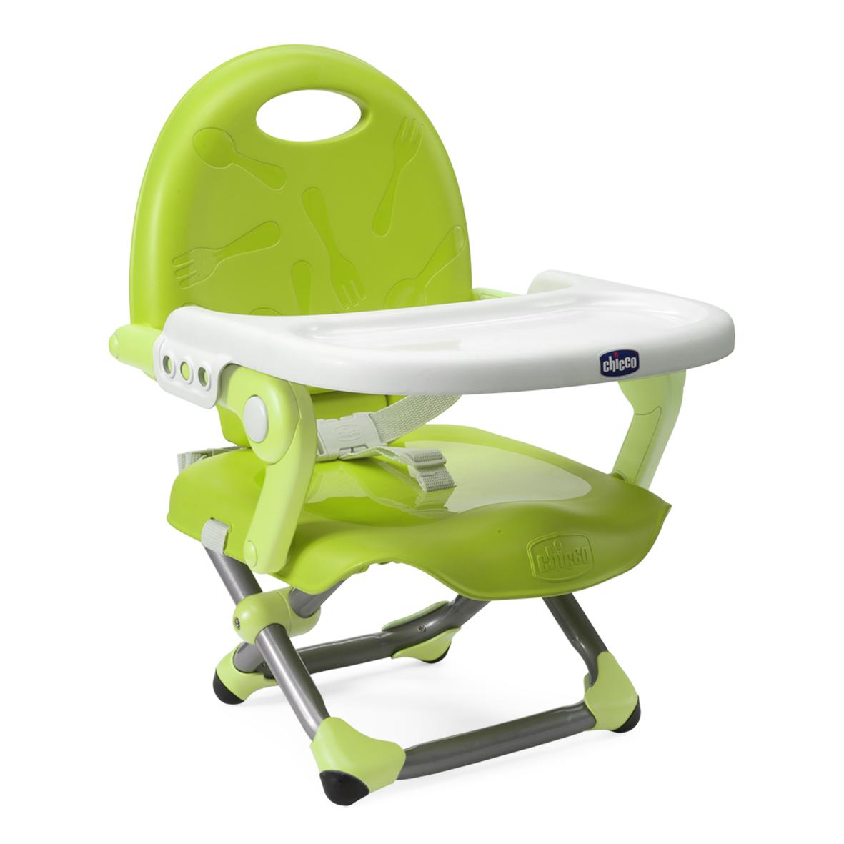 Podsedák prenosný Pocket Snack na stoličku - Lime
