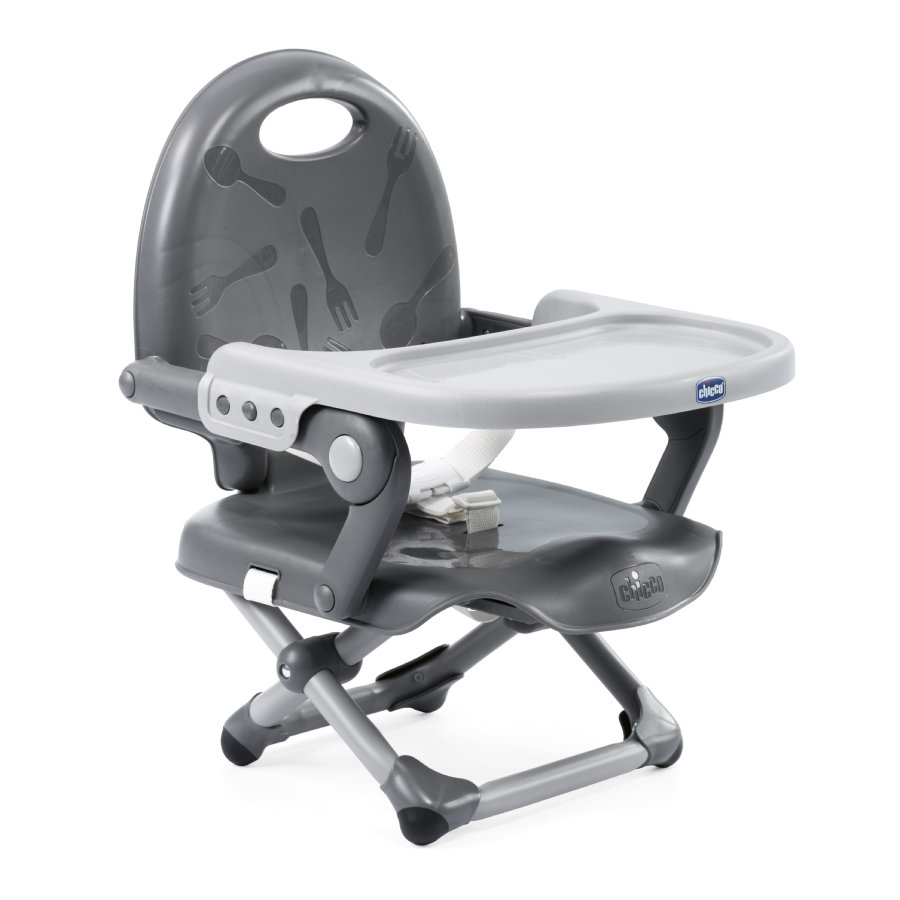 Podsedák prenosný Pocket Snack na stoličku - Dark Grey