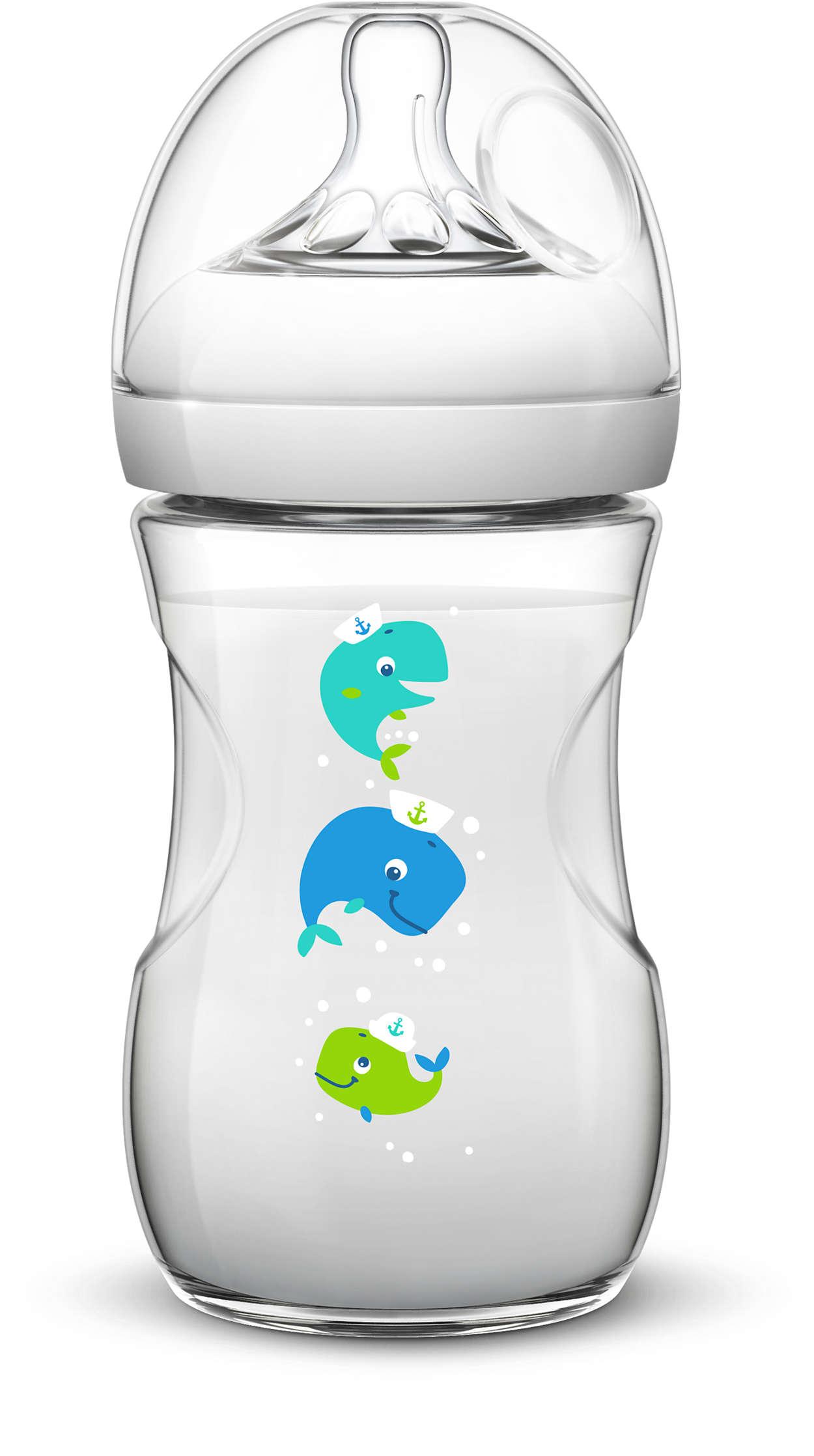 Avent fľaša 260ml Natural PP veľryba