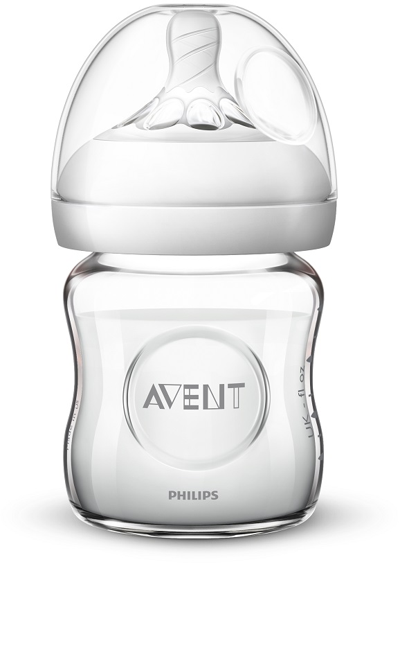 Avent fľaša 120ml Natural.2 SKLO