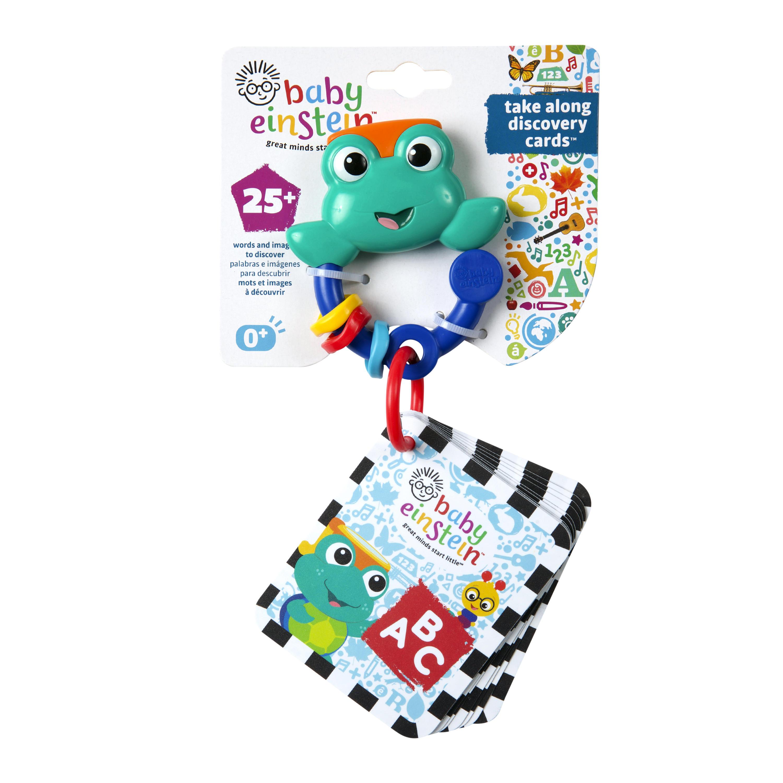 Karty zábavno-vzdelávacie Take Along Discovery Cards™ písmená 0m+