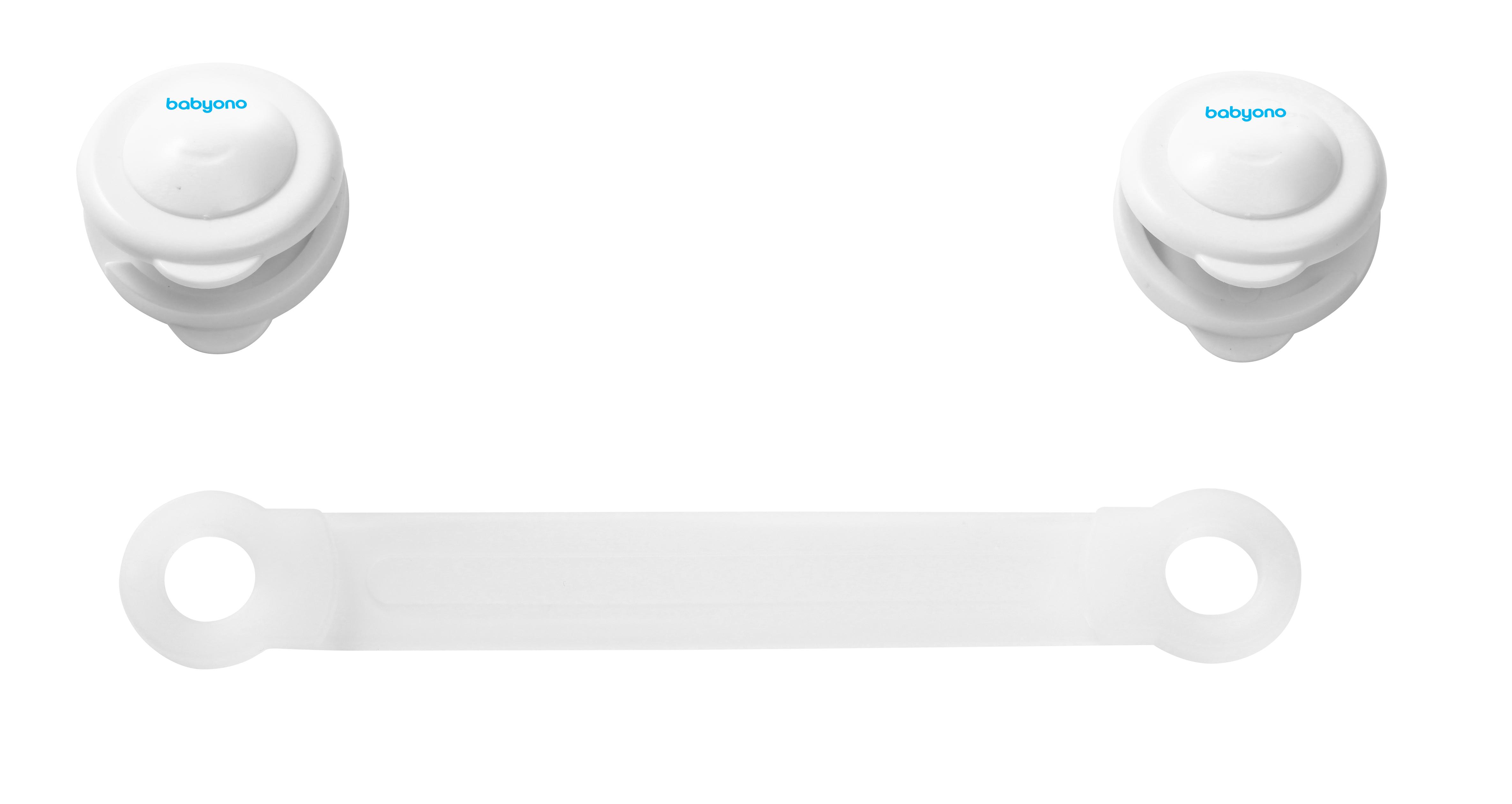 Zámok univerzálny pre zásuvky a chladničky, biely