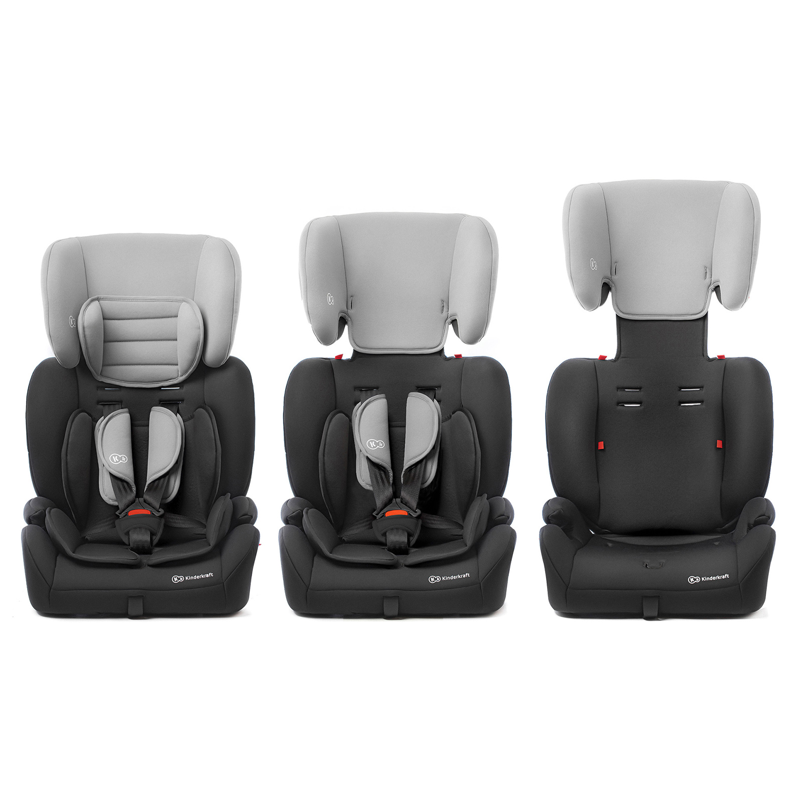 Autosedačka Concept Black/Gray 9-36kg Kinderkraft 2019