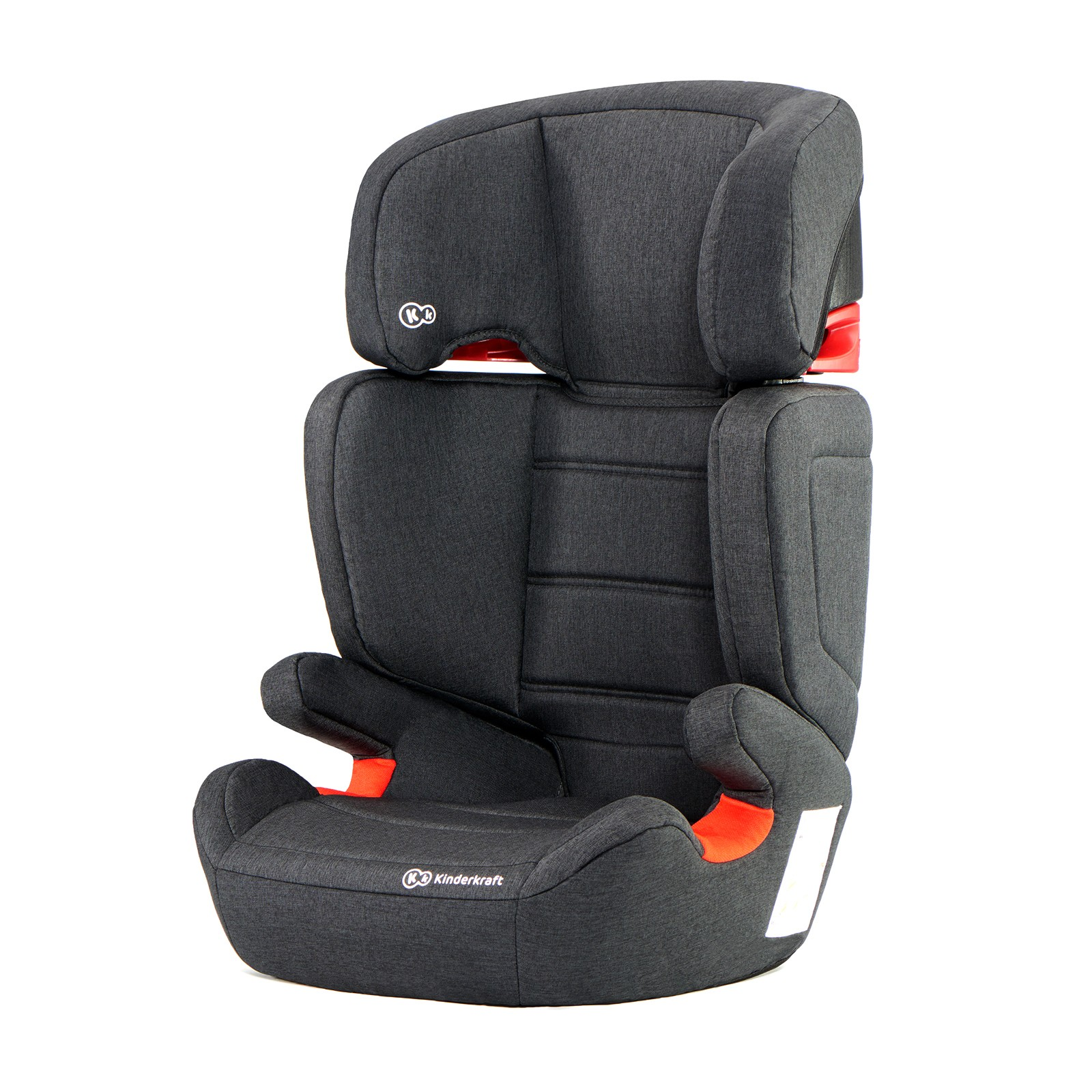 Autosedačka Junior Fix Isofix Black 15-36kg Kinderkraft 2019