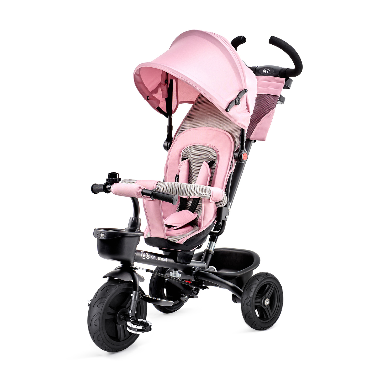 Trojkolka Aveo Pink Kinderkraft 2019