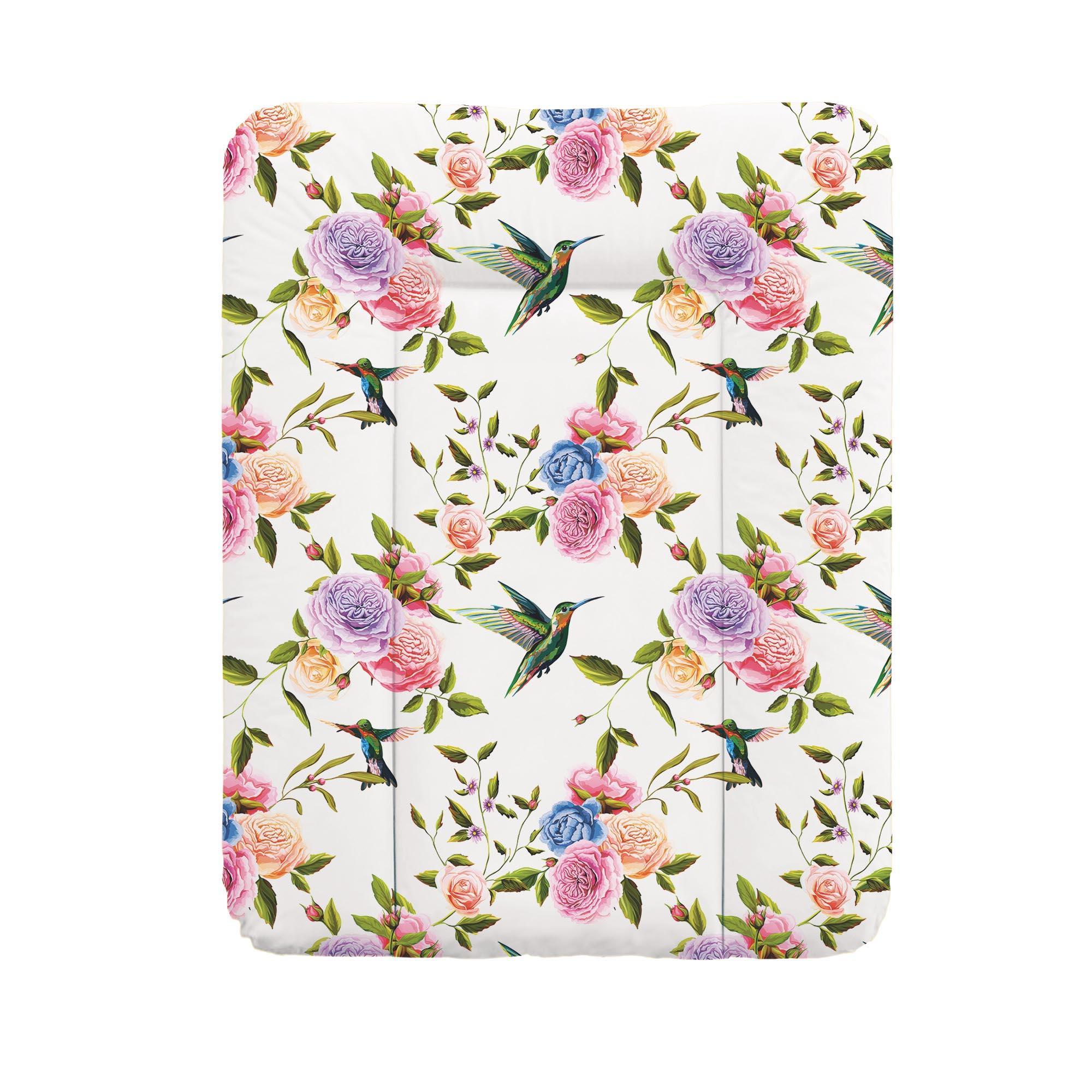 Podložka prebaľovacia na komodu 50x70 cm Flora & Fauna Flores Ceba
