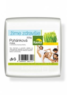 POHÁNKOVÁ MÚKA  500g/10 - RAVITA