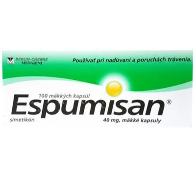 ESPUMISAN cps 40 mg (blis.PVC/Al) 1x100 ks