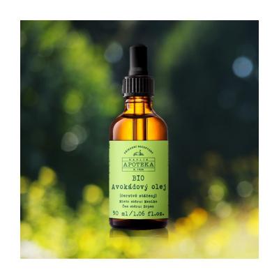 Havlíkova apotéka BIO Avokádový olej 30 ml