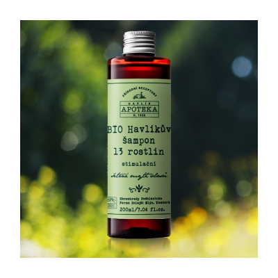 HAVLÍKOVA APOTEKA Havlíkov šampón 13 rastlín 200 ml