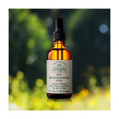 Havlíková Prírodná Apotéka BIO Makadamiový olej - 30 ml