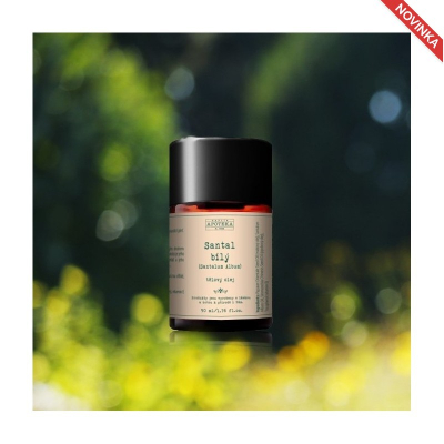Havlíkova přírodní apotéka Vonný telový olej SANTAL BIELY 50 ml