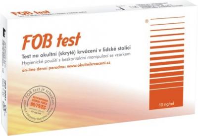 TOZAX FOB TEST kazetový test na zistenie okultného krvácania v stolici 1x1 ks