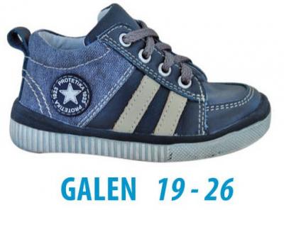 Protetika Chlapčenské členkové topánky Galen šedé