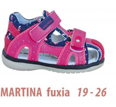 Dievčenské sandálky - Protetika - Martina fuxia
