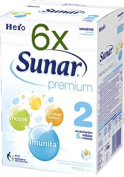 Sunar Premium 2 600g x 6ks
