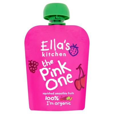 ELLA S Kitchen Ovocné pyré – pink one (90g)