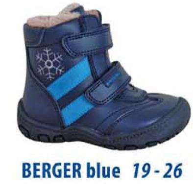 7648c1511297 Protetika Chlapčenské zimné topánky Berger modré
