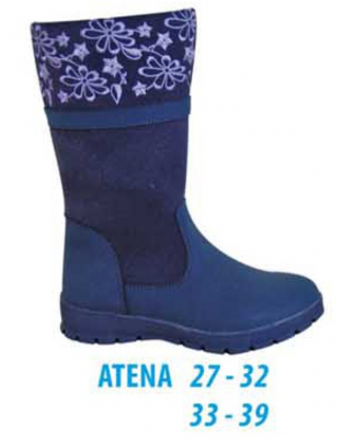Protetika Dievčenské čižmy ATENA modré