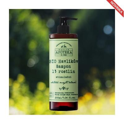 HAVLÍKOVA APOTÉKA - Havlíkov šampón 13 rastlín - 500 ml
