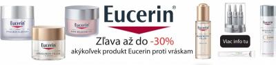 Akcia EUCERIN 30% Zľava na vybrané produkty