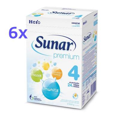 Sunar Premium 4 6x600 g