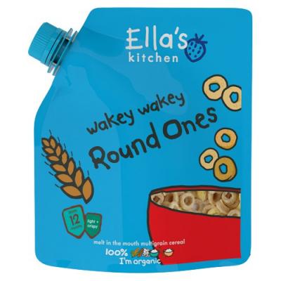 Ellas Kitchen -Wakey Wakey celozrnné cereálie – kolieska (46g)