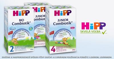 Mliečna batoľacia výživa HIPP  (od 1 roku) nájdete aj v našom ESHOPE