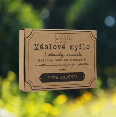 HAVLÍKOVA APOTÉKA - Maslové mydlo - Káva robusta
