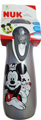 NUK FC Fľaša PP Sports Cup, DISNEY-Mickey 450ml Šedá