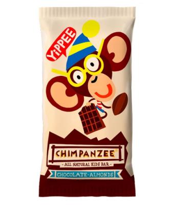 Tyčinka Chimpanzee yippee Bar Čokoláda-Mandle