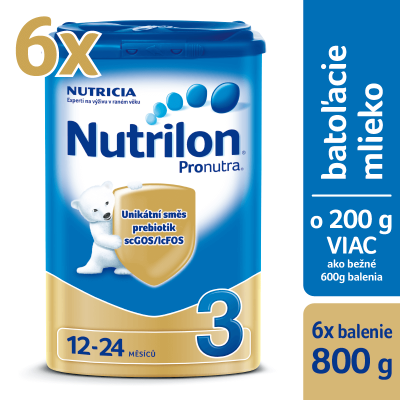 Nutrilon 3 Pronutra 6 x 800g