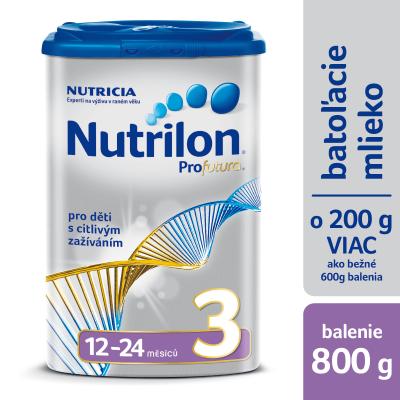 Nutrilon 3 Profutura batoľacia mliečna výživa v prášku (12-24 mesiacov), 1x800 g