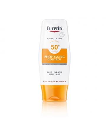 Eucerin SUN PHOTOAGING CONTROL SPF 50+ mlieko extra ľahké na opaľovanie 1x150 ml