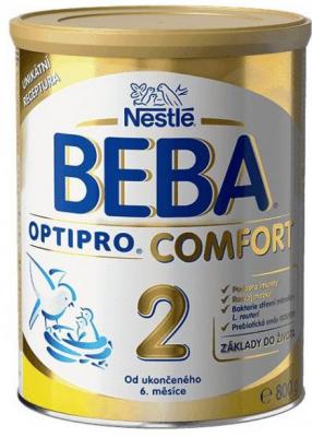 Nestlé BEBA OPTIPRO COMFORT 2 následná výživa dojčiat (od ukonč. 6. mesiaca) 1x800 g
