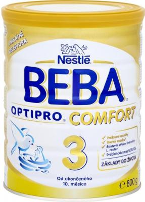 Nestlé BEBA OPTIPRO COMFORT 3 následná výživa dojčiat (od ukonč. 10. mesiaca) 1x800 g