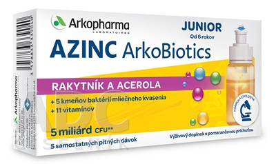 AZINC ArkoBiotics JUNIOR samostatné pitné dávky 5x7 ml (35 ml)