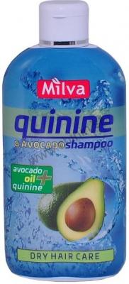 Milva Šampón s extraktom chinínu a avokáda 200 ml