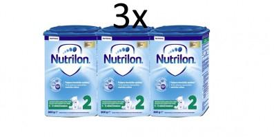 NUTRICIA NUTRILON 2 PRONUTRA 3X800 G