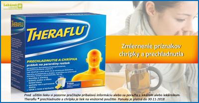 Theraflu® , prechladnutie a chrípka