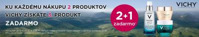 Výhodná ponuka na vybrané produkty  VICHY 2+1 tretí najlacnejší ZADARMO