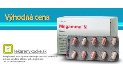 MILGAMMMA N - teraz za priaznivú cenu