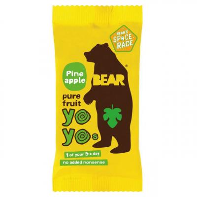 Bear Nibbles Ananásové yoyo (20g)